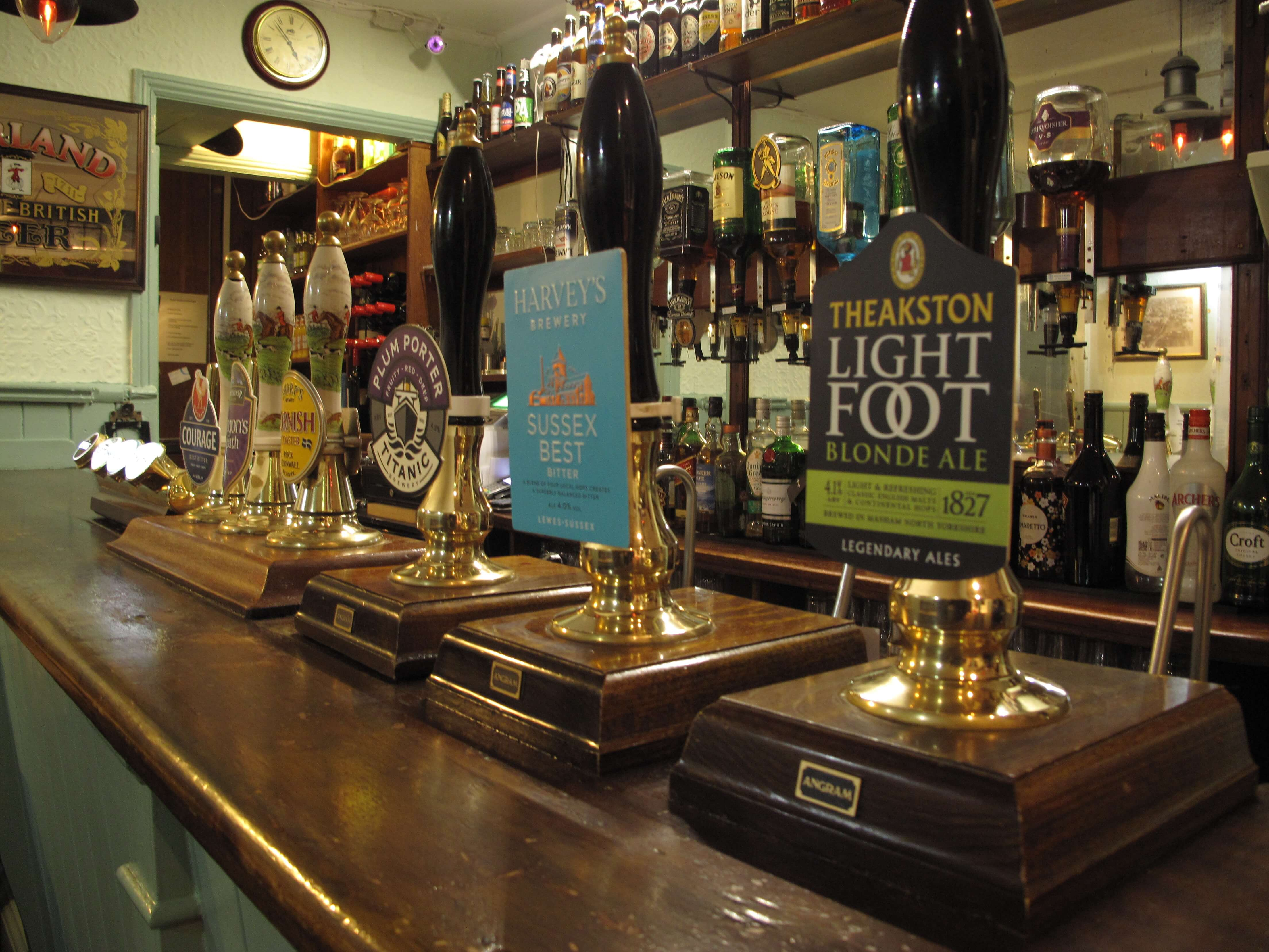 Real ale at The Retreat in Reading