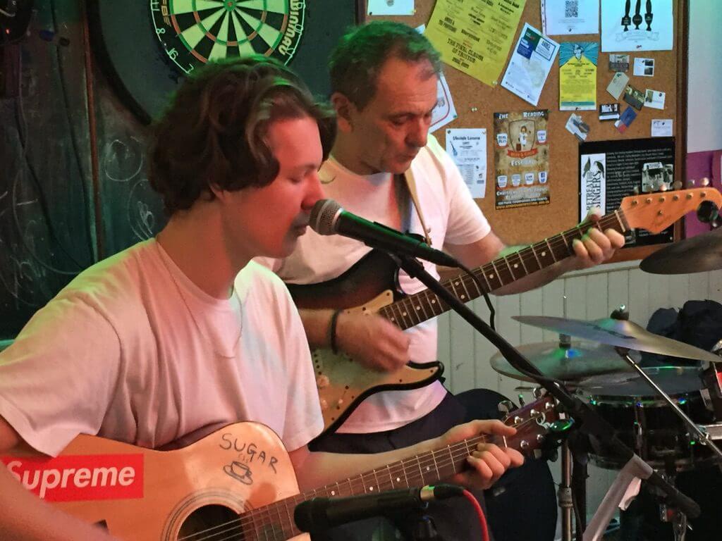 Charlie Harrington and David Gray performing live at The Retreat