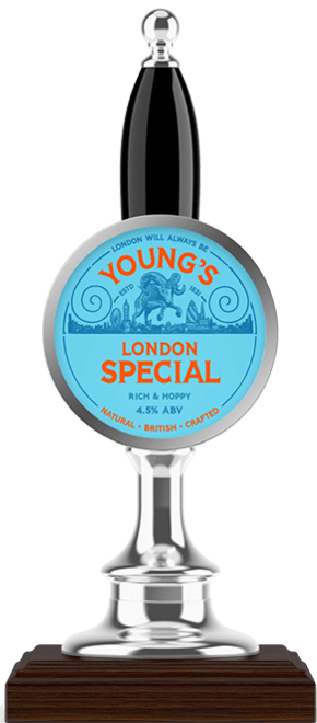 Youngs London Special available at The Retreat, Reading