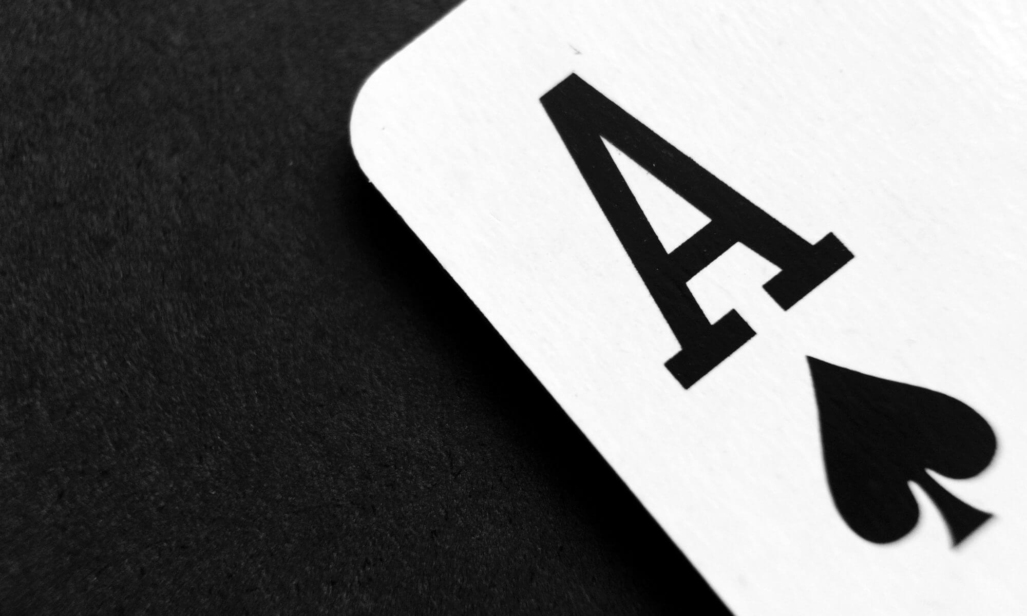 Ace of Spades, playing card