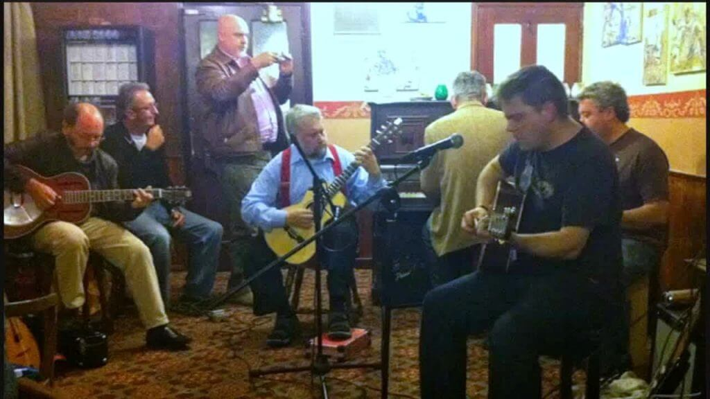 Blue Monday Jam at The Retreat pub in Reading