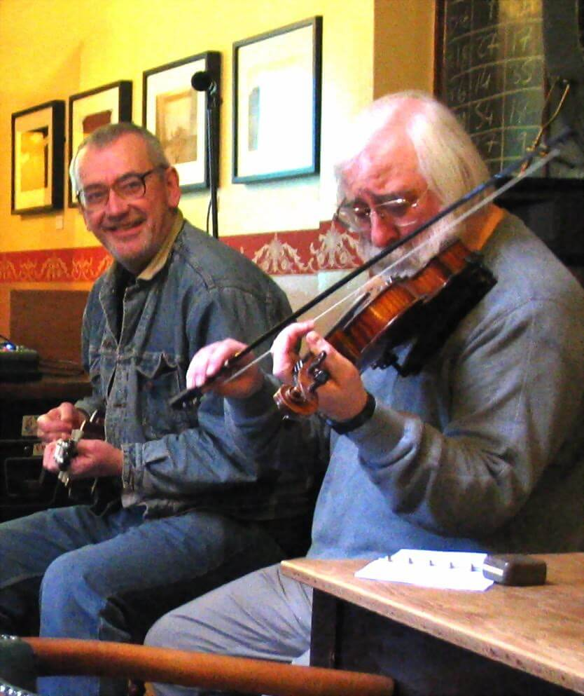 The Retreat pub in Reading - Colm Daley and Bob