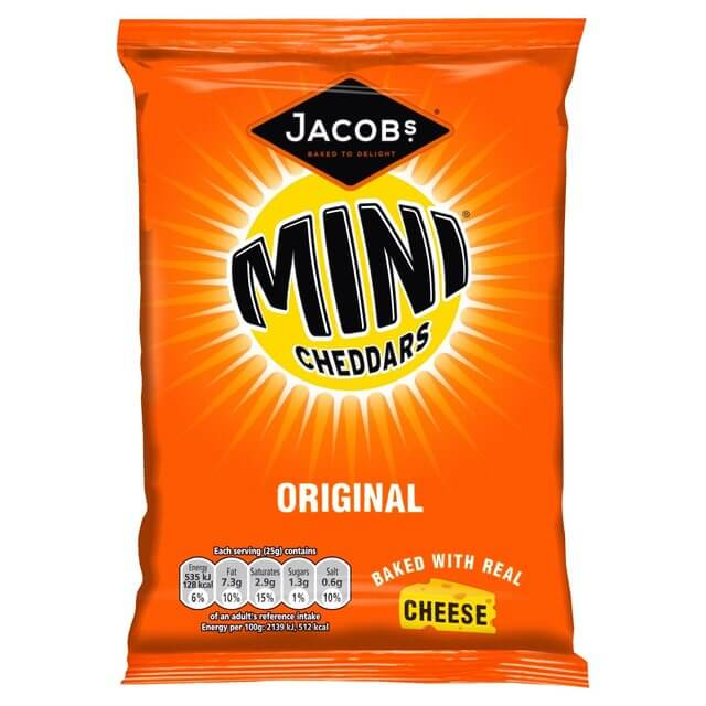 Mini Cheddars sold at The Retreat in Reading