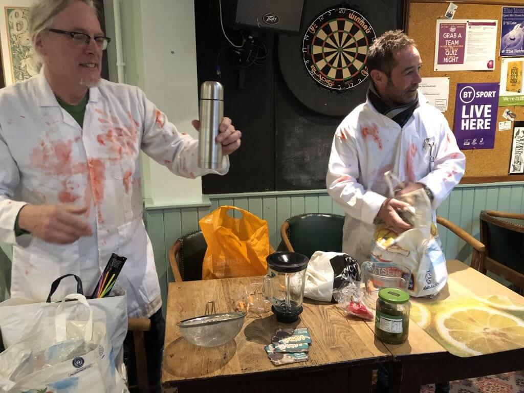 Arthur and Ian, The Retreat Bloody Mary Contest 2019