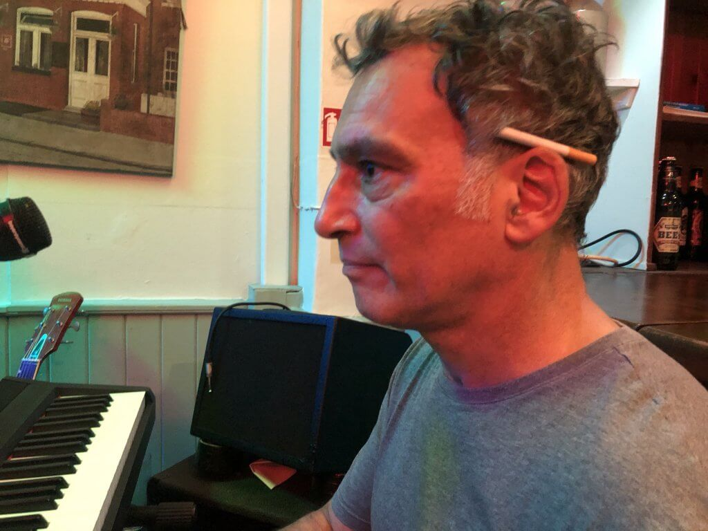 Andy Purcell at The Retreat pub in Reading