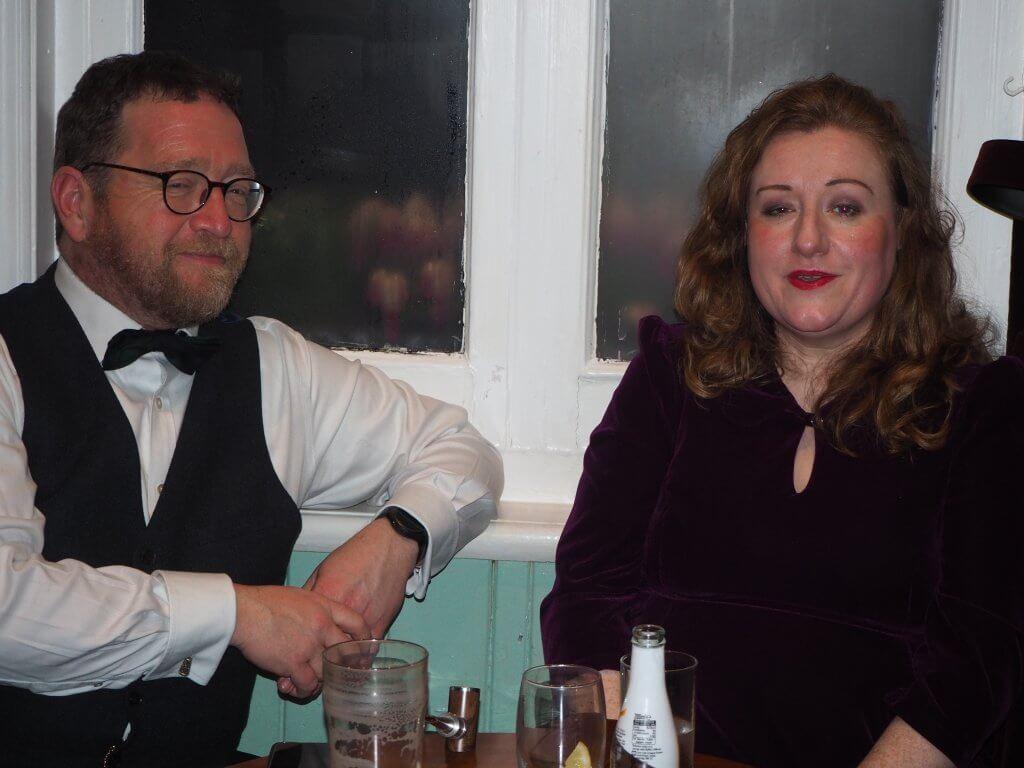 Wyn Moseley and Jo Cummins-Moseley