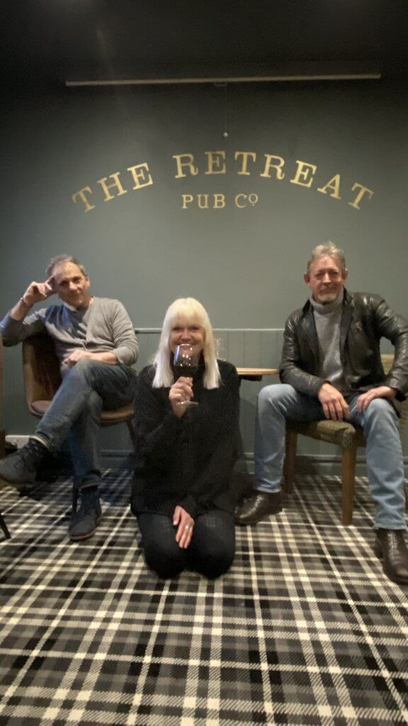 David Great, Di Whitaker and Mark Birmingham