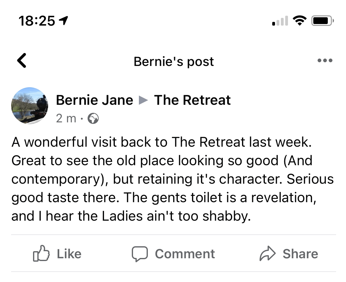 Bernie Facebook post