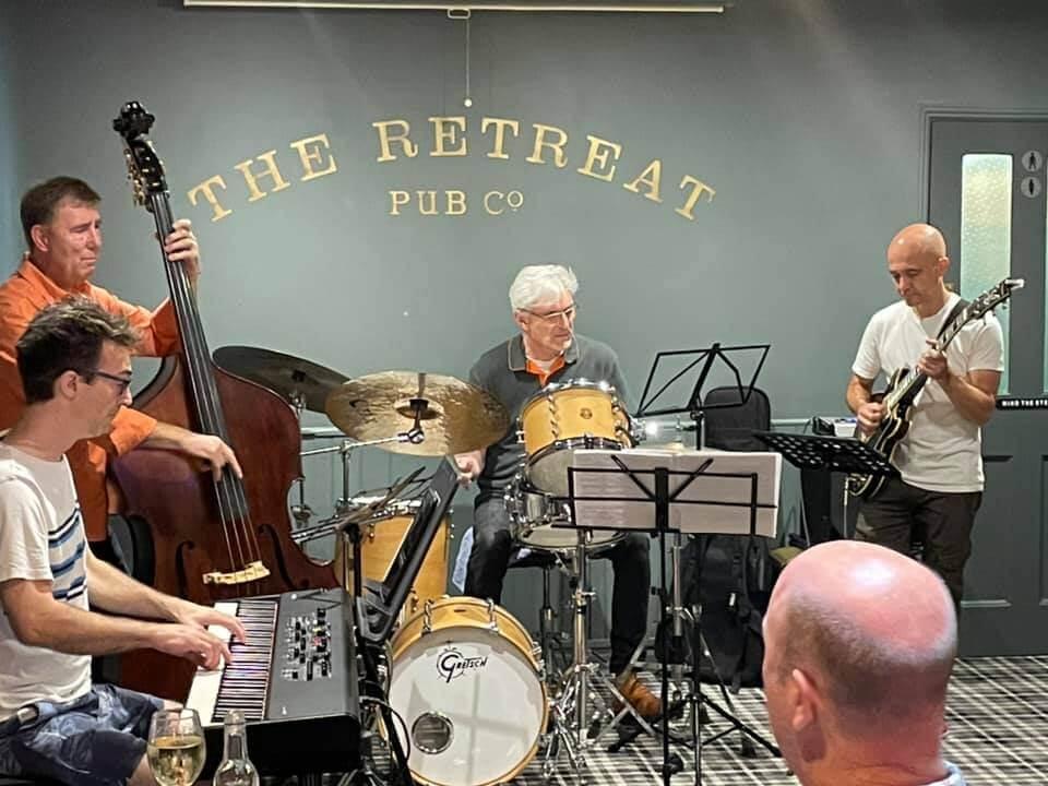Simon Price, Sunday Jazz at The Retreat